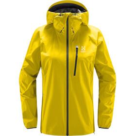 Haglöfs L.I.M Jacket Dame signal yellow